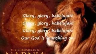 Battle Hymn Of The Republic For Kids-Narnia -Lyrics