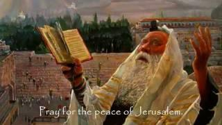 Pray For The Peace Of Jerusalem with Lyrics -Psalm 122 Chuck King