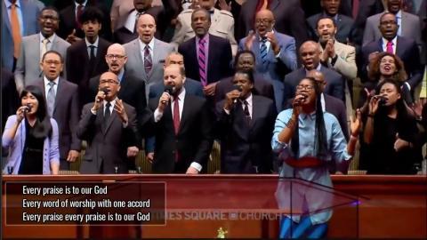 Every Praise...Times Square Church , New York(Subtitles)