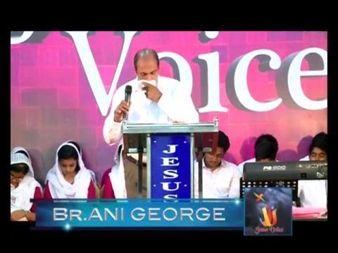Br.Ani George - Jesus Voice 20.04.2017 NIGHT