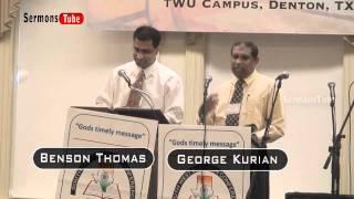 Southwest Brethren Conference 2010 - Christian Message By Bro.Benson Thomas - Part  5/5