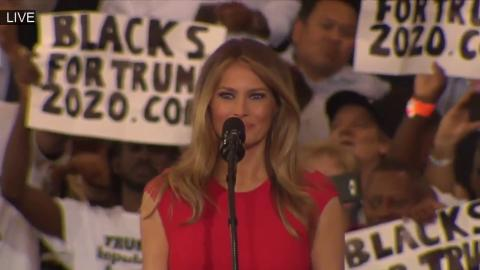 Lord's Prayer by First Lady Melania Trump..