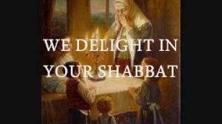 We Delight in Your Shabbat with Lyrics (Messianic)