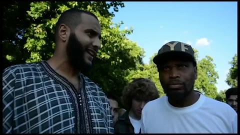 Who is allah?...Muslim vs Christian Jew @ Hyde Park , London